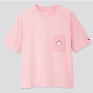 Uniqlo Pink Hello Kitty Shirt